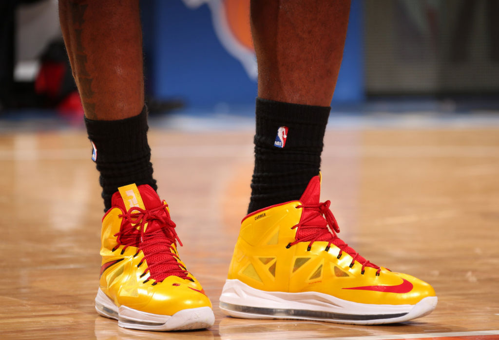 LeBron James wearing Nike LeBron X Carmex (10)