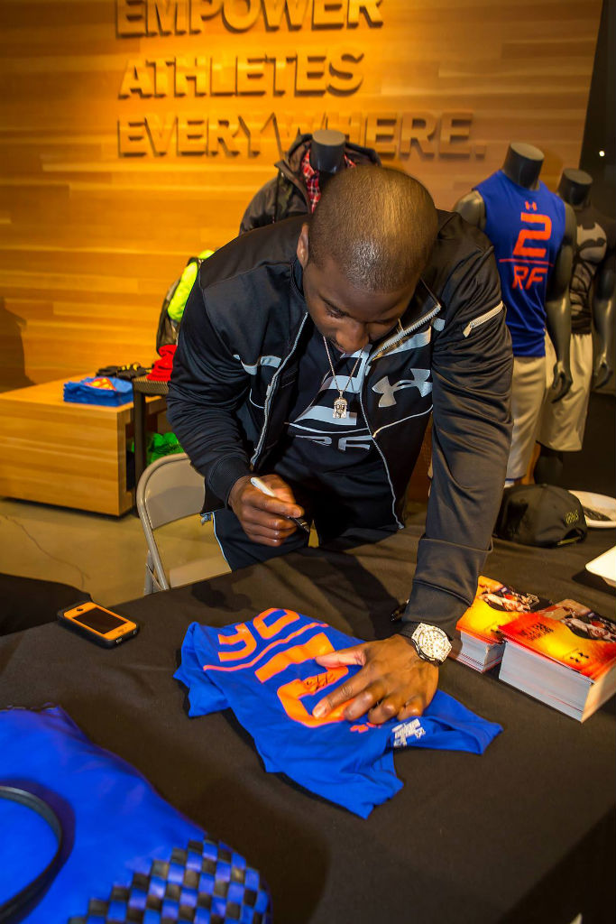 Raymond Felton Visits Under Armour Campus & Brandhouse (14)