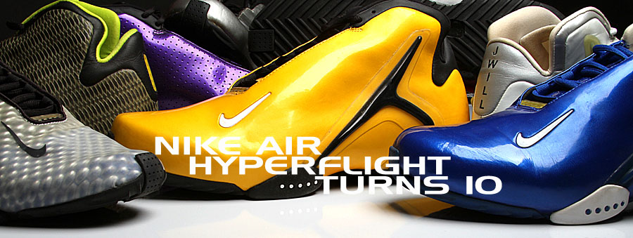 43b9e8d26c5f Celebrate the 10th Anniversary of the Nike Air Hyperflight and hear all  about the original emotional design inspiration from the legendary Eric  Avar.