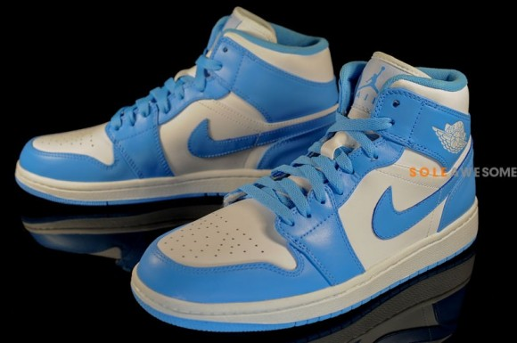 02 2013 Air Jordan I Retro Mid 554724-106 White University Blue-White   105.00 3fcb4e0d71ff