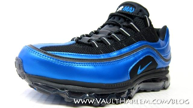 Nike Air Max 24 7 BlackBlue Spark White Eneste samler  Sole Collector