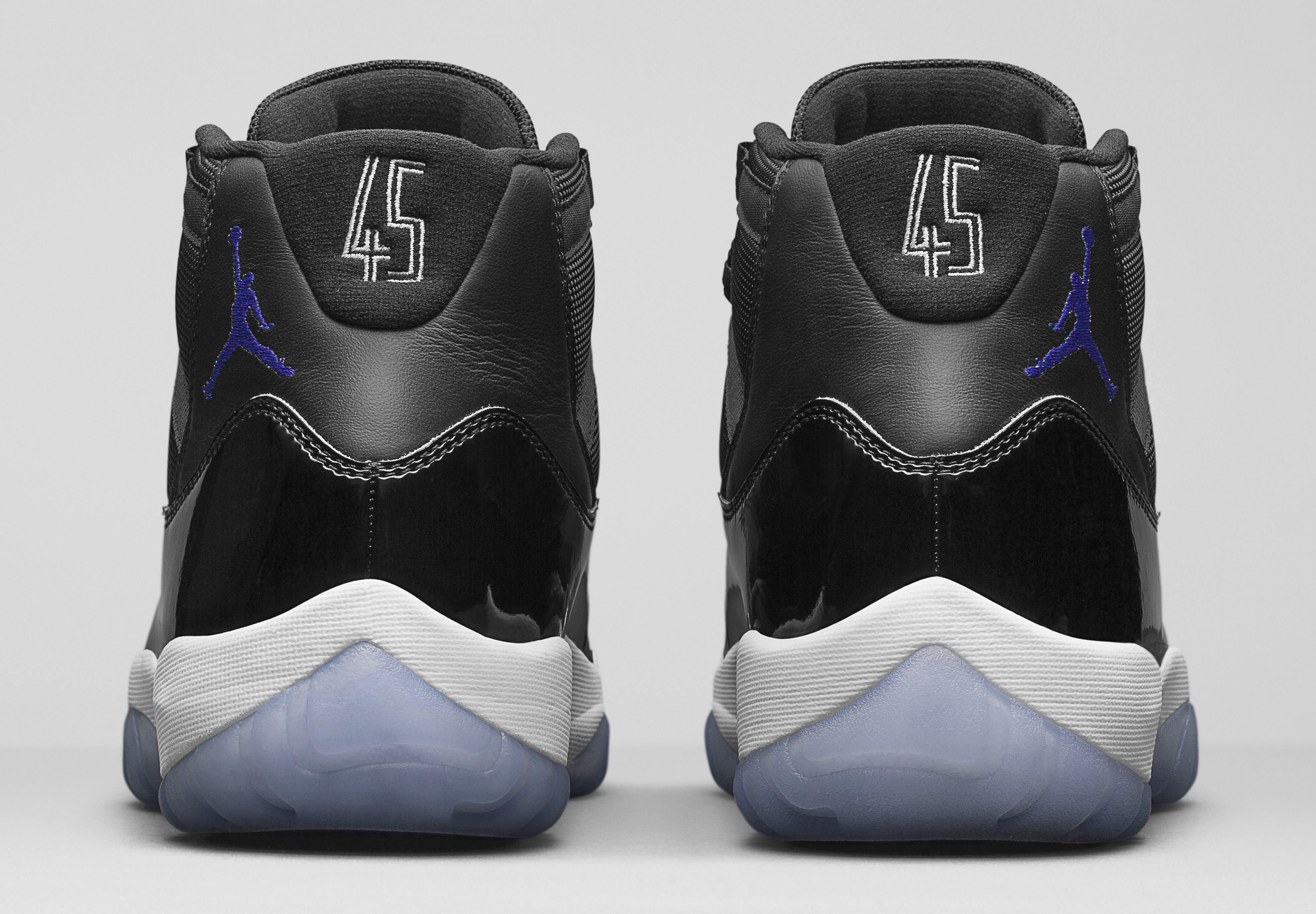 quality design 02cde 6cbd5 Image via Nike Jordan 11 Space Jam Heel