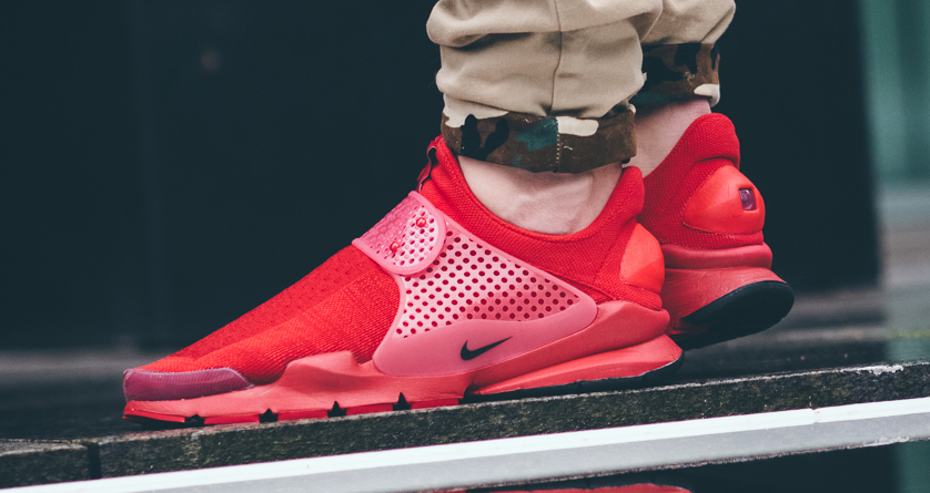 best wholesaler feef9 fd3d5 See How Nike s Sock Dart  Independence Day  Pack Looks On-feet. USA love.