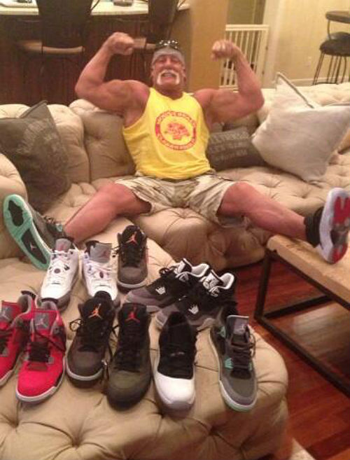 Whatcha Gonna Do? Hulk Hogan Now Part Of The Sneaker Game