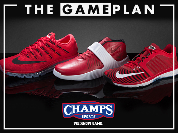 on sale cf82a a18f8 All eyes will be on the annual All-Star lineup of sneakers that will take  center court in Toronto this weekend, but the latest Game Plan from Champs  Sports ...