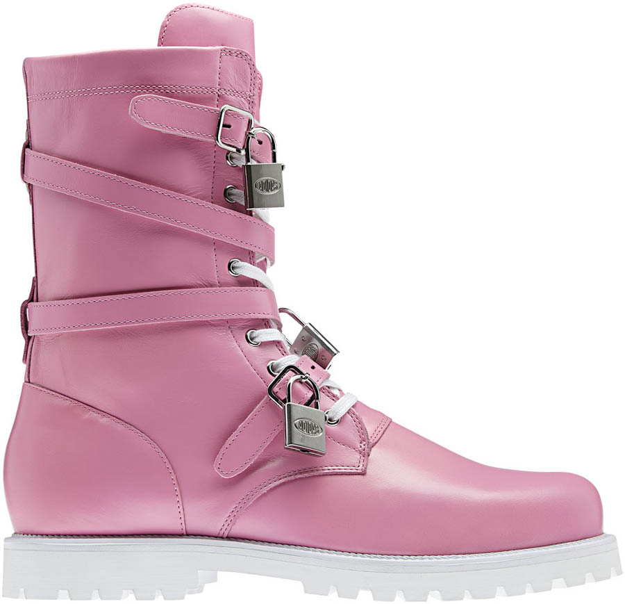 adidas Originals by Jeremy Scott - Spring/Summer 2012 - JS Combat Pink V22076 (1)