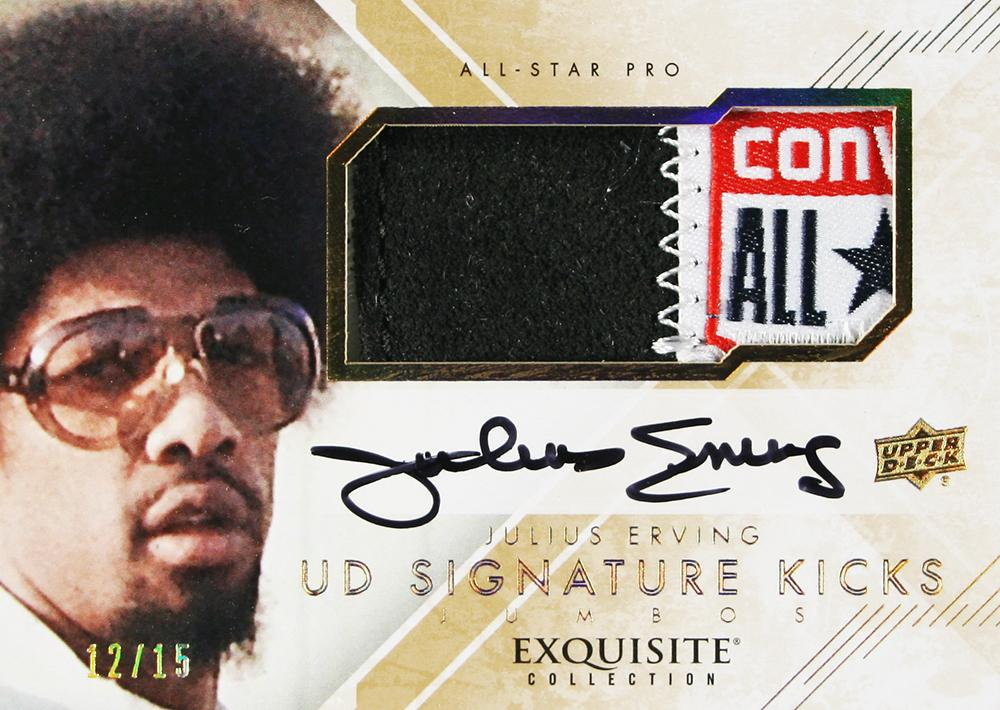 Upper Deck Exquisite Kicks: Julius Erving