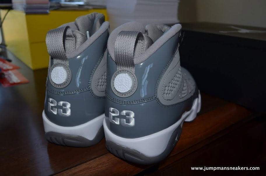 detailed look d8f62 ade38 Air Jordan IX 9 Cool Grey 302370-015 (12)