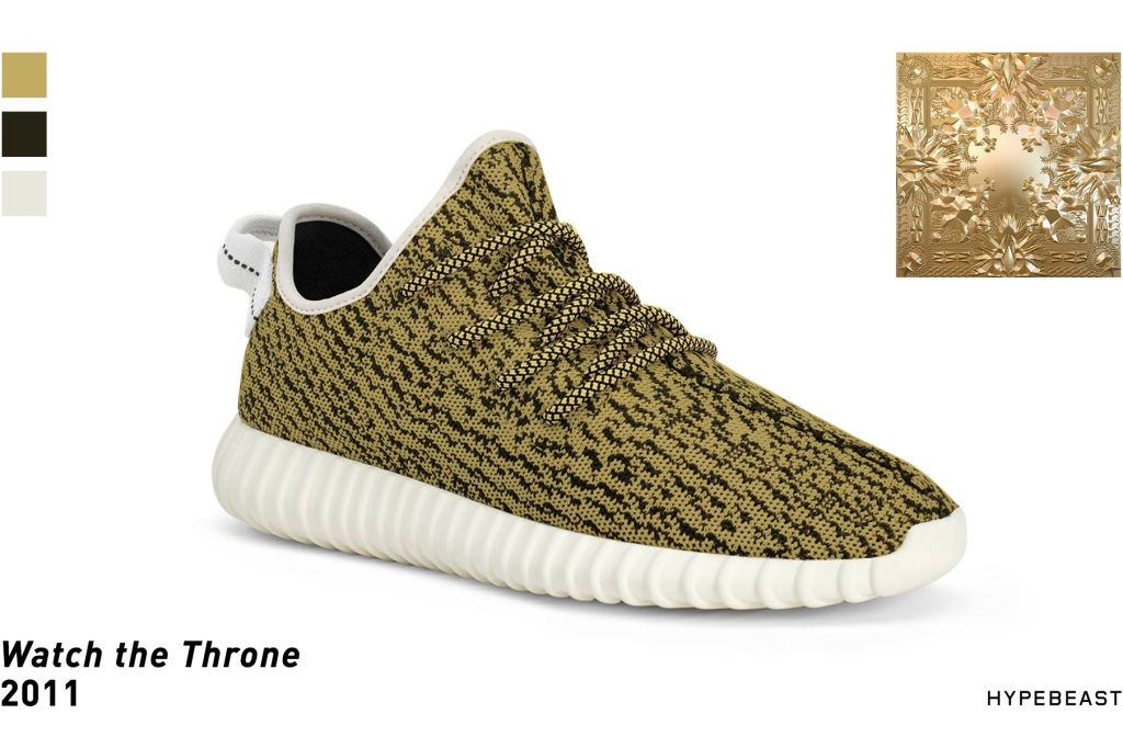 adidas Yeezy 350 Boosts Made to Look Like Kanye's Albums