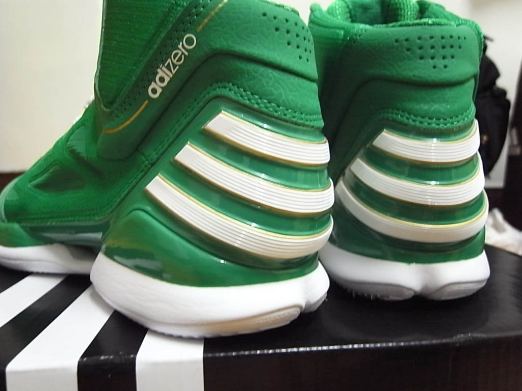 43052eafd180 adidas adiZero Rose 2.5 St. Patrick s Day Fairway White Gold G49930 (5)