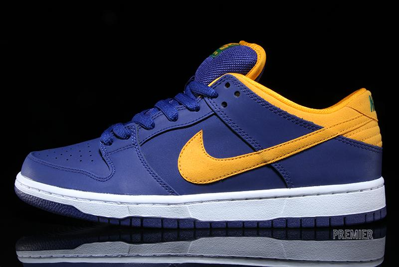 Nike Sb Blue And Yellow