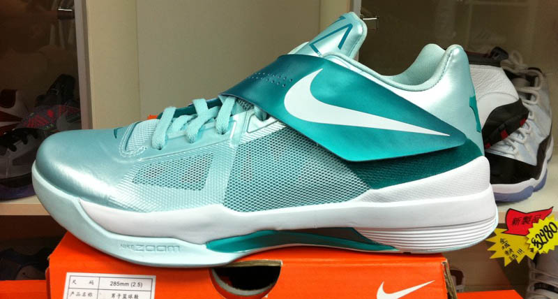 Nike Zoom KD IV 4 Easter Mint Candy 473679-301 (3)
