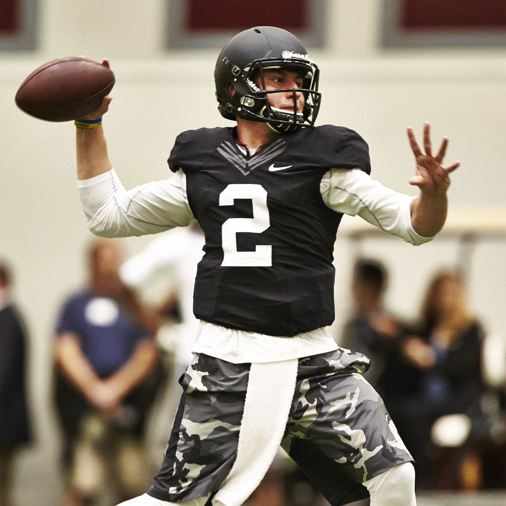 new concept 9f378 f6d49 Buy Johnny Football's Pro Day Nike Limited Jersey | Sole ...