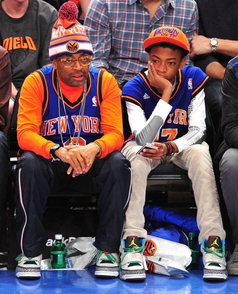spike lees courtside kicks sole collector