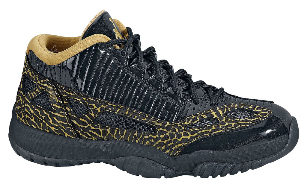 Air Jordan XI 11 Low IE Black/Metallic Gold