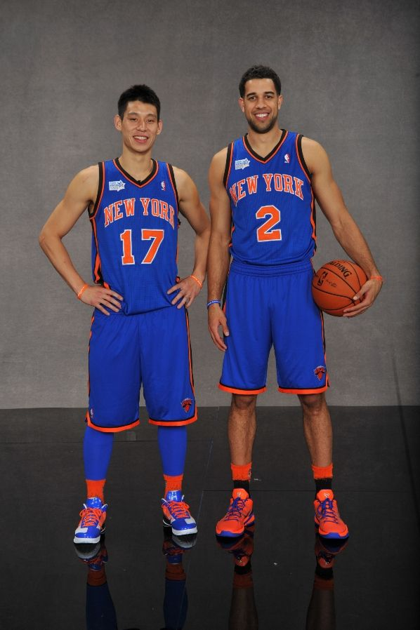 uk availability 9135b af8db Nike Zoom Hyperfuse Low Jeremy Lin Rising Stars iD Knicks Shoes (6)