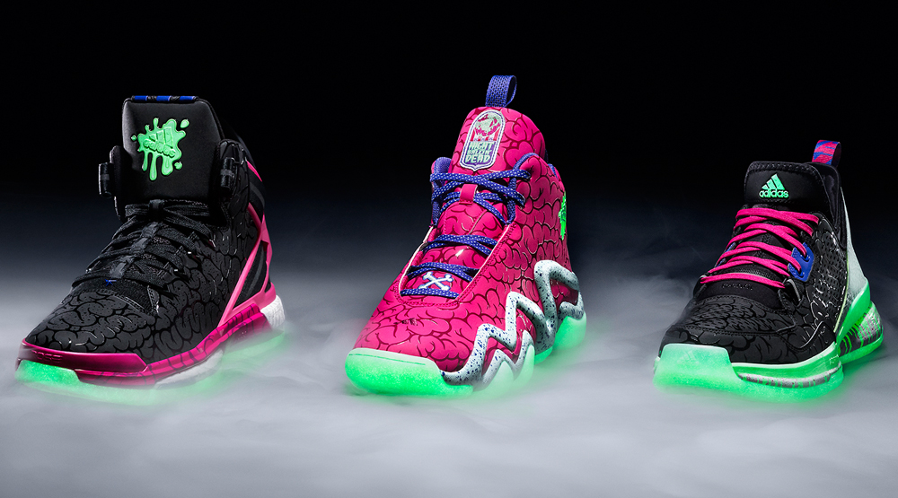 new arrivals 8376e 1ebd4 adidas Basketball Ballin Dead Pack
