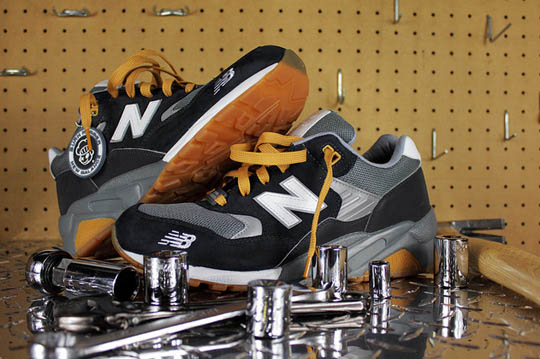 Burn Rubber x New Balance 580 Workforce Pack 4