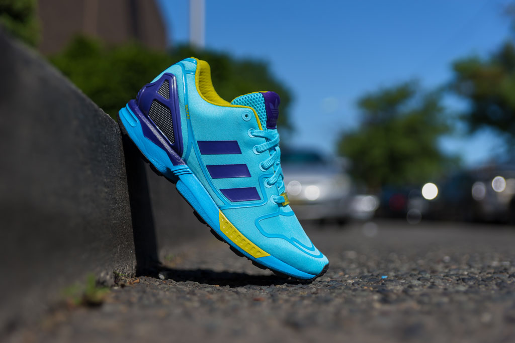 wholesale dealer 9095f 46c49 adidas ZX Flux Techfit OG Aqua (1)