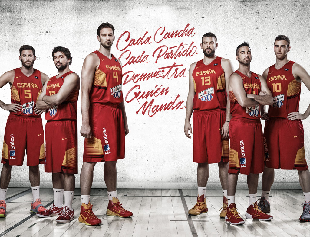 c8a272aef Nike Unveils Spain s HyperElite Uniforms for the 2014 FIBA World Cup ...