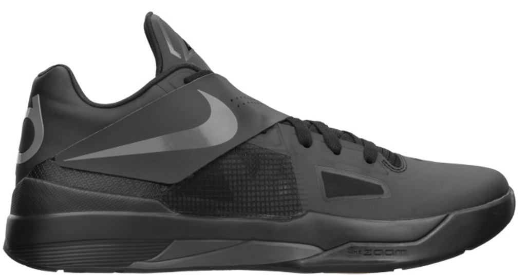 low priced c5966 3b5cf Nike Zoom KD IV 473679-002 Black Dark Grey