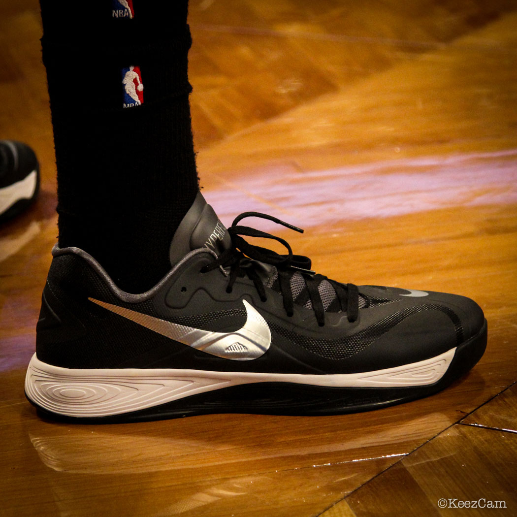 SoleWatch // Up Close At Barclays for Nets vs Lakers - Nike Hyperfuse 2012 Low