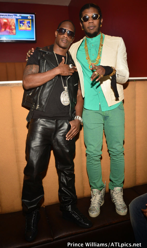 Trinidad James wearing adidas Originals JS 'Money' Wings 2.0