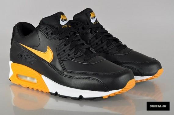 air max 90 essential black gold