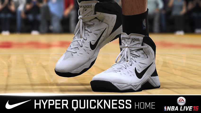 NBA Live 15 Sneakers: Nike Zoom Hyper Quickness Home