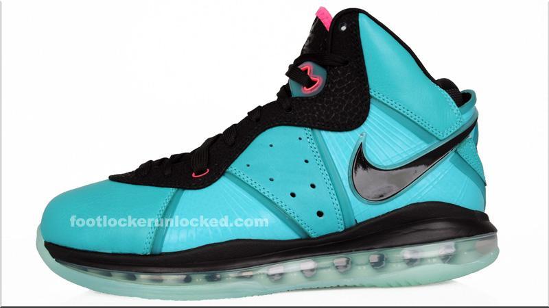 bca6837ad004 Nike Air Max LeBron 8 South Beach 417098-401