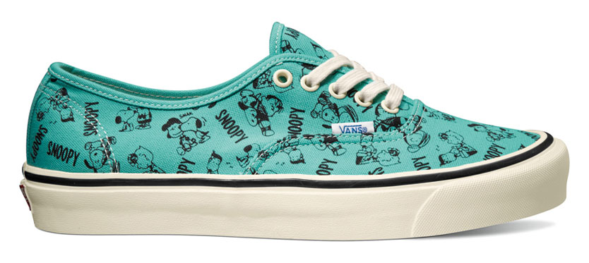 Peanuts x Vans Vault Collection - Authentic LX Turquoise