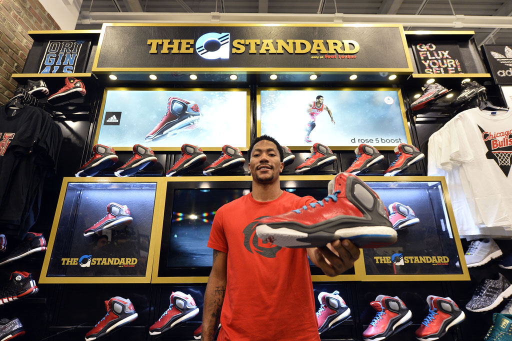 Derrick Rose and adidas Basketball Launch the D Rose 5 Boost in Chicago (5)