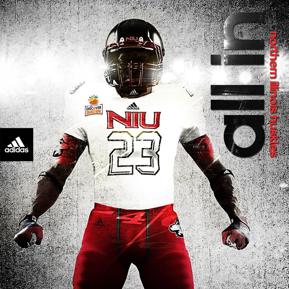 adidas Unveils Orange Bowl TECHFIT Uniforms for Northern Illinois (1)