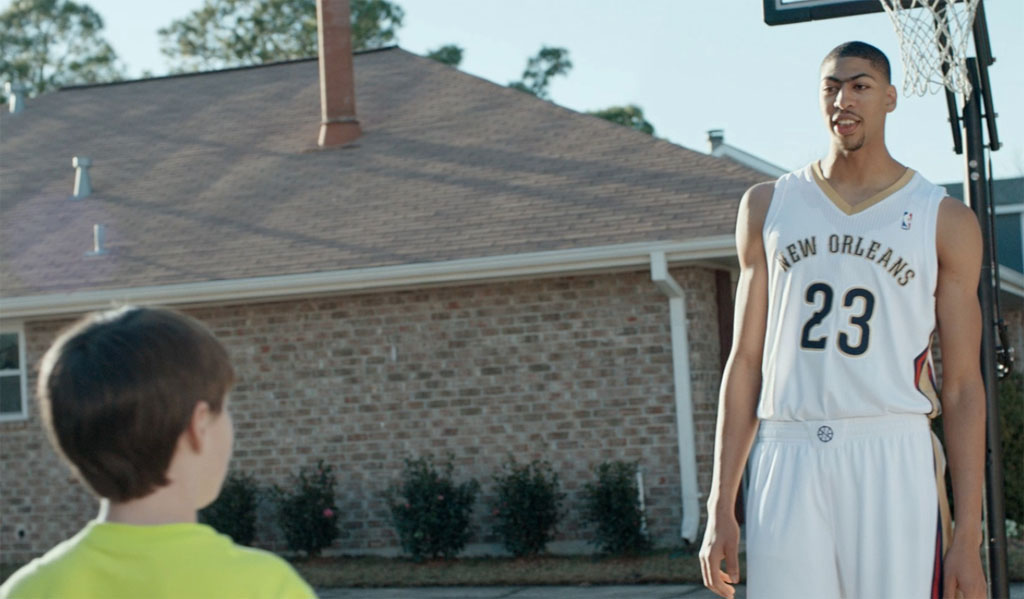 Anthony Davis Buzzer Beater Kids Foot Locker Commercial (1)