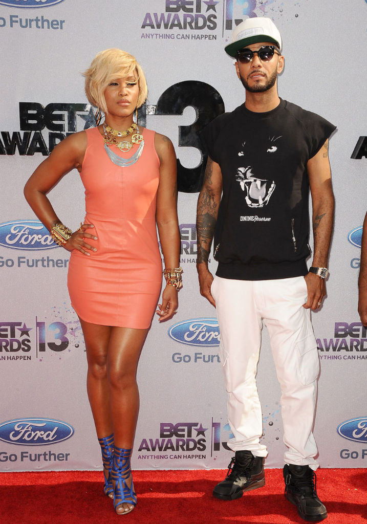 Swizz Beatz wearing Reebok Pump OXT