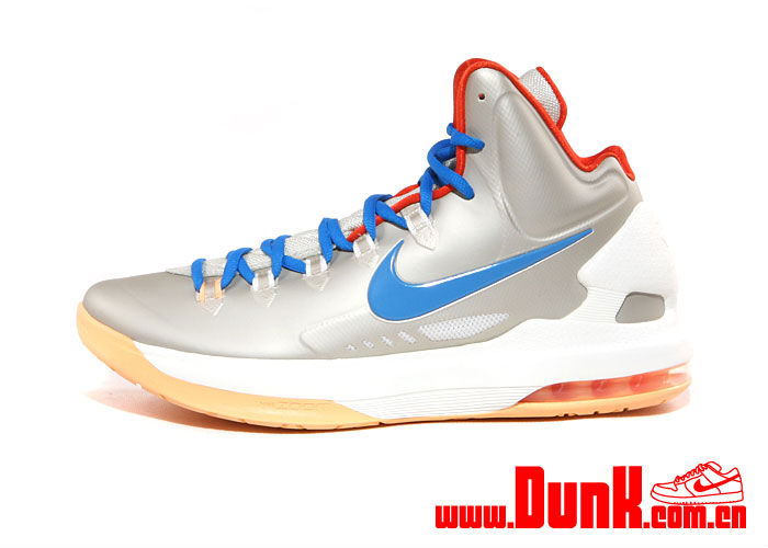 Nike KD V Birch Photo Blue Sail Team Orange 554988-200 (1)