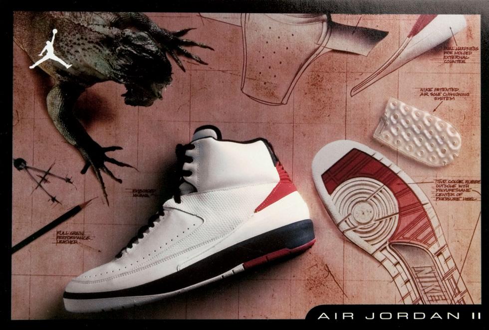 Air Jordan 2 Carte Rétro