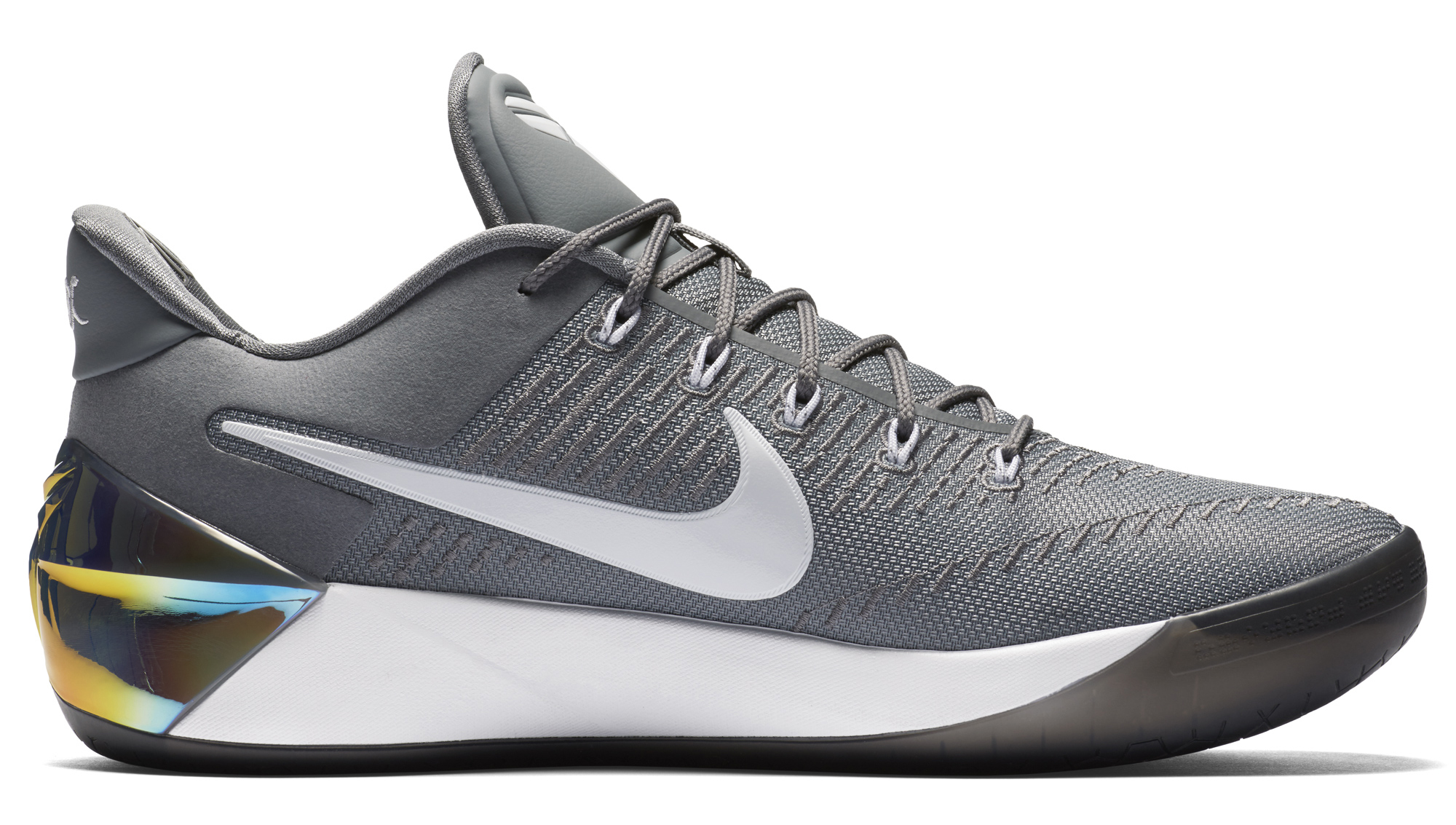 Image via Nike Nike Kobe AD Grey White Medial