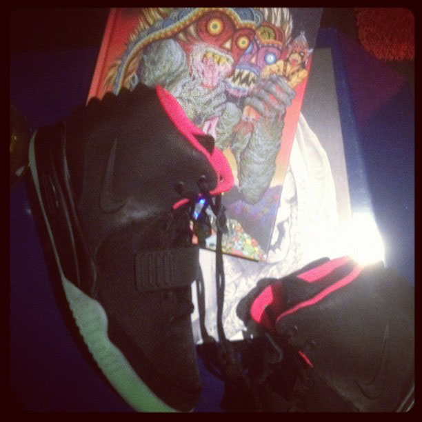Nike Air Yeezy II 2 Chris Brown