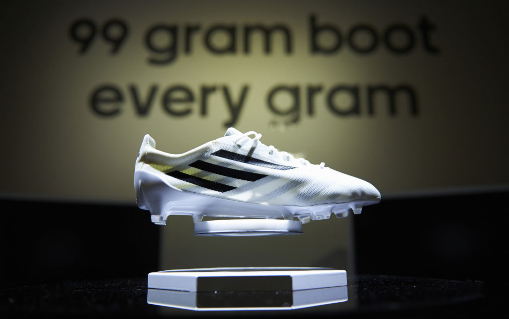 adidas Unveils 99g Soccer Cleat White (1)