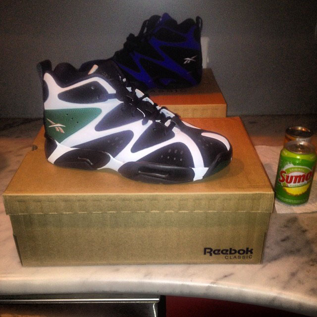 Cam'ron Picks Up Reebok Kamikaze 1