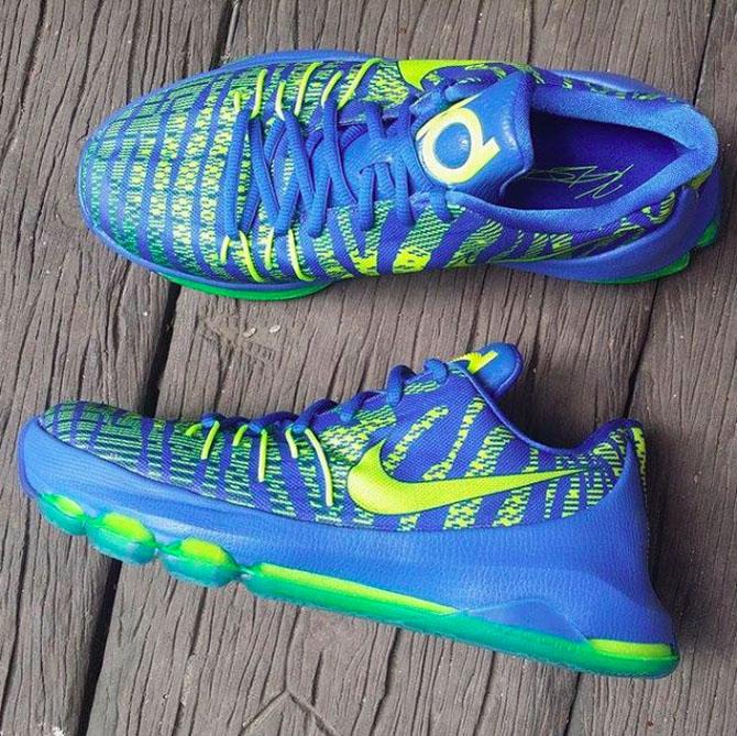 Nike KD 8 Blue Purple Black