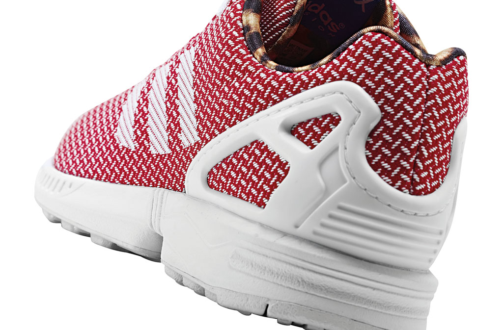 adidas ZX Flux Women's Weave Pack Red (4)