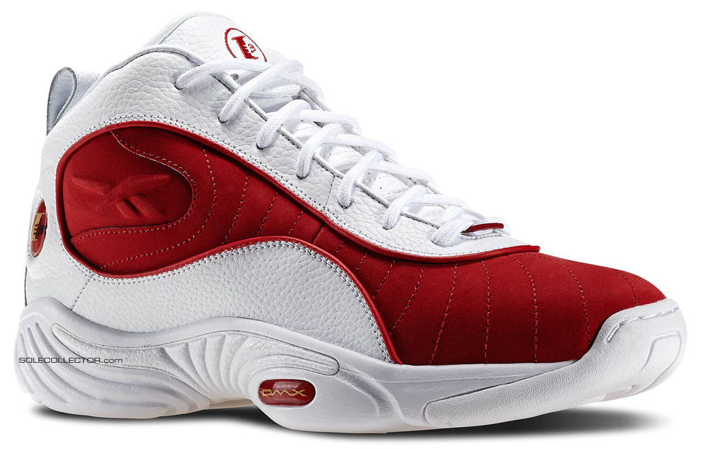 buy popular 0ddb9 d8bed Reebok Answer III 3 White Red Retro 2015 (1)