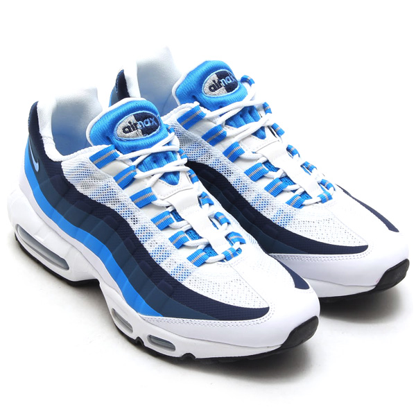 air max 95 blue and white