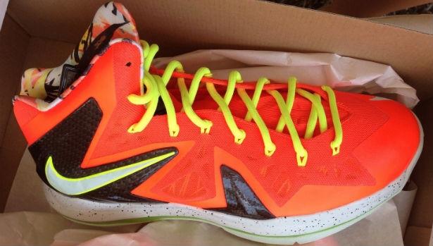 Nike LeBron X PS Elite Total Crimson