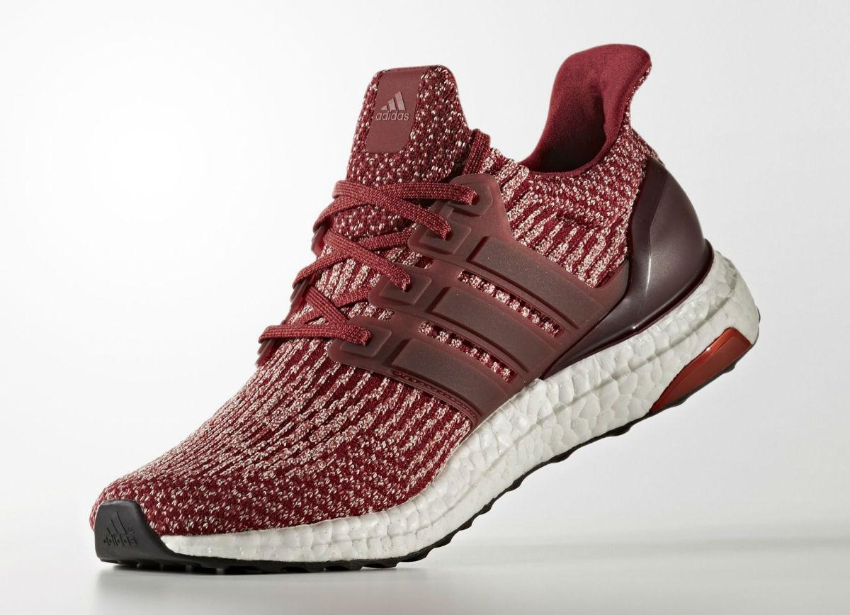 Adidas Ultra Boost 3.0 Burgundy Medial BA8845