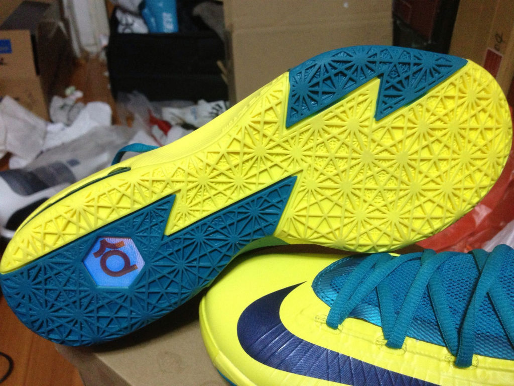 Nike KD VI Yellow Teal Navy 599424-700 (10)