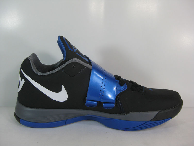 Nike Zoom KD IV Black White Varsity Royal 473679-006 (4)