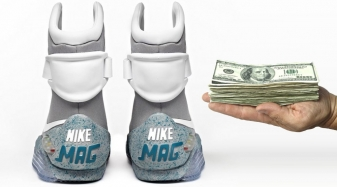 How Much Would You Pay for Auto-Lacing Nike Mags? Twitter Answers   Sole  Collector